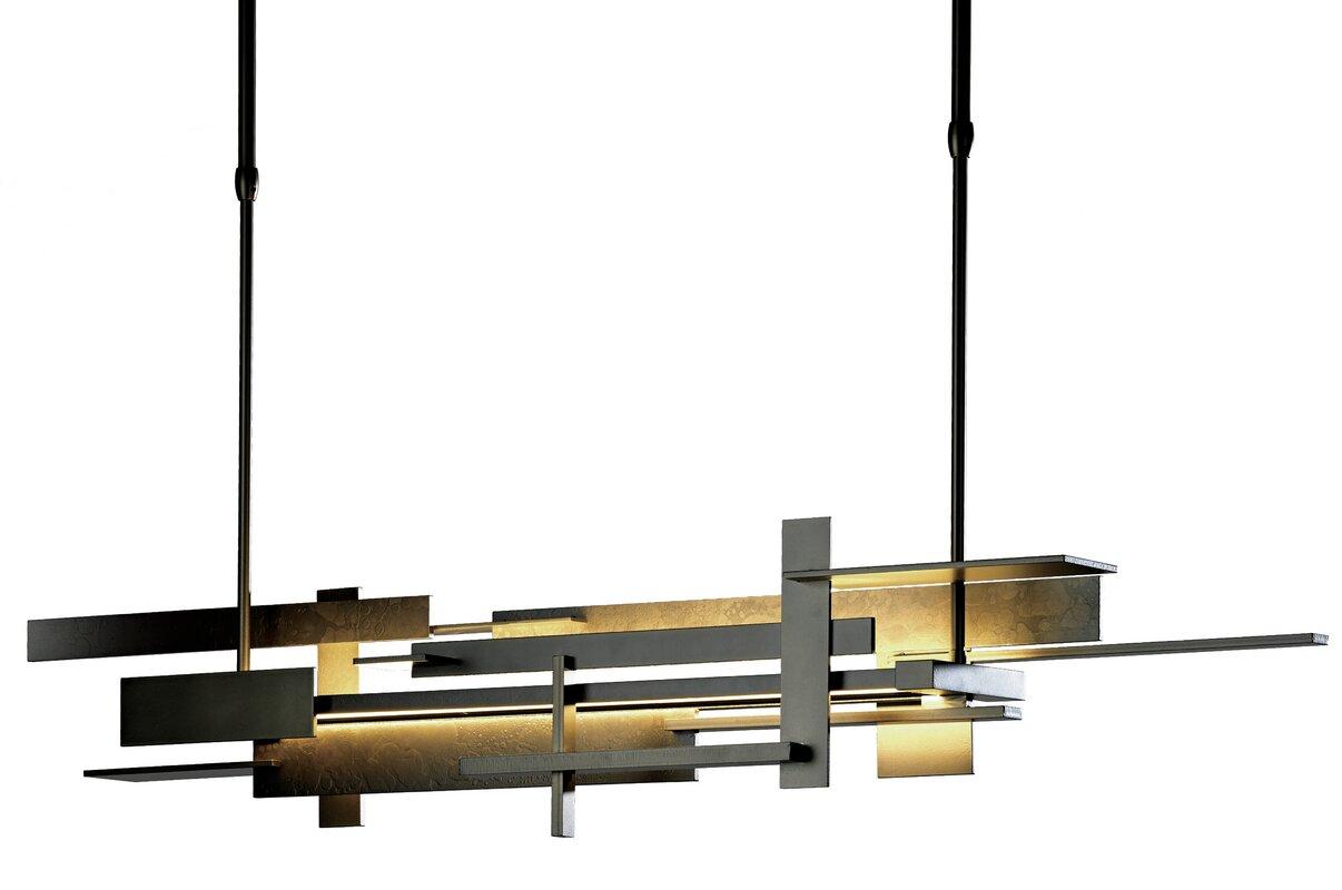 Hubbardton Forge Planar 1 Light Led Kitchen Island Pendant Reviews