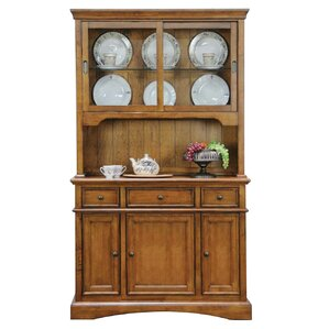 Lebanon Lighted China Cabinet by Alcott H..