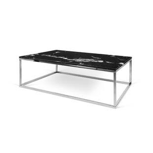 Modern Marble Coffee Tables AllModern - White carrara marble coffee table