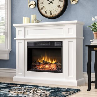 Off White Electric Fireplace Wayfair