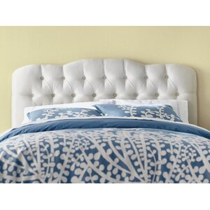 Davina Tufted Shantung Arch Upholstered Headboard