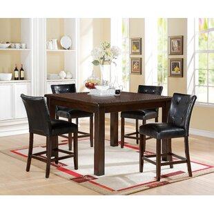Lowder 5 Piece Pub Table Set