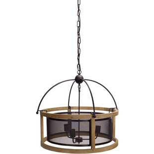 Large outdoor hanging light wayfair noren hanging 3 light lamp drum chandelier aloadofball Choice Image