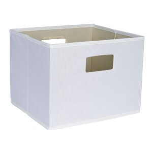 Deluxe Open Storage Bin With Cutout Handle