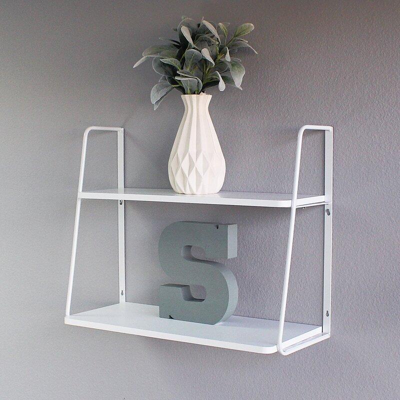 Ja 2 Tier Display Wall Shelf