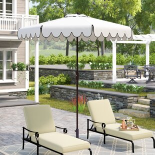 Patio Chaise With Umbrella Wayfair