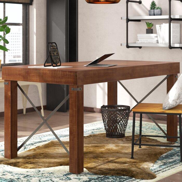 Terrific Leandra Solid Wood Desk Download Free Architecture Designs Scobabritishbridgeorg
