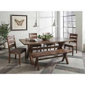 Distressed Finish Kitchen & Dining Room Sets You\'ll Love | Wayfair