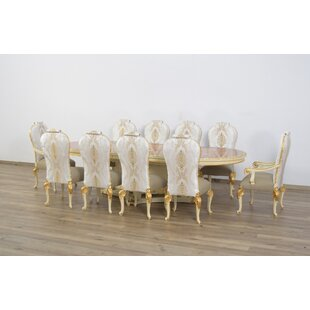 Busch Luxury 11 Piece Dining Set