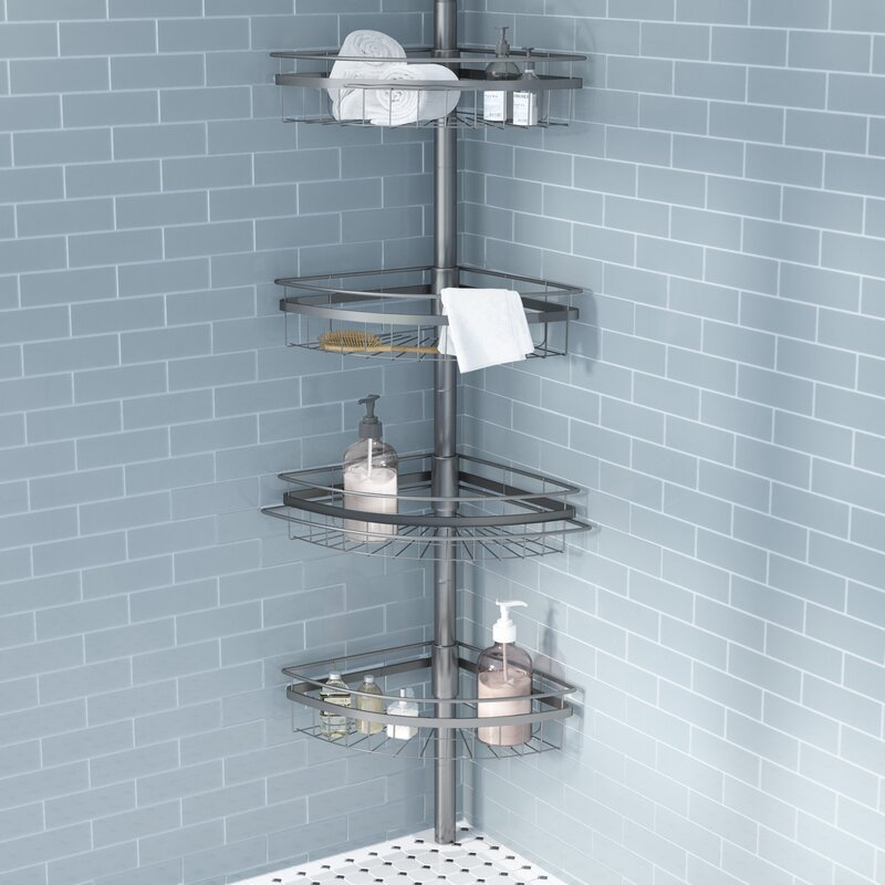 Andover Mills Merriwood Shower Caddy U0026 Reviews | Wayfair Images