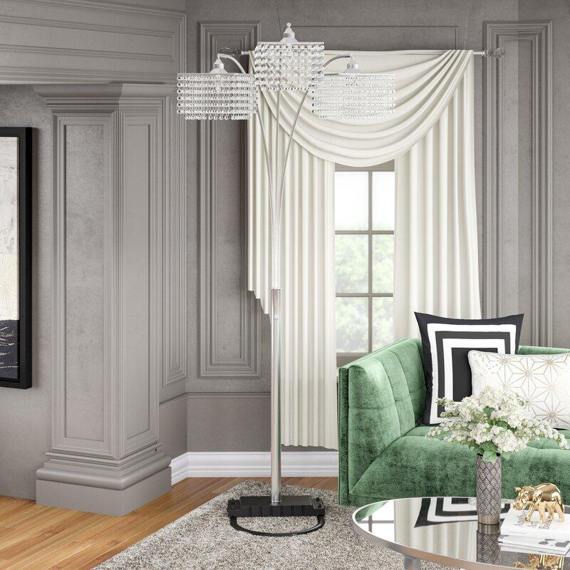 Willa Arlo Interiors Anatoli 84 Quot Arched Tree Floor Lamp