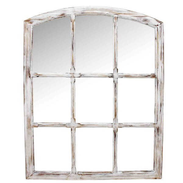 Seward Antique Windowpane Mirror Wayfair