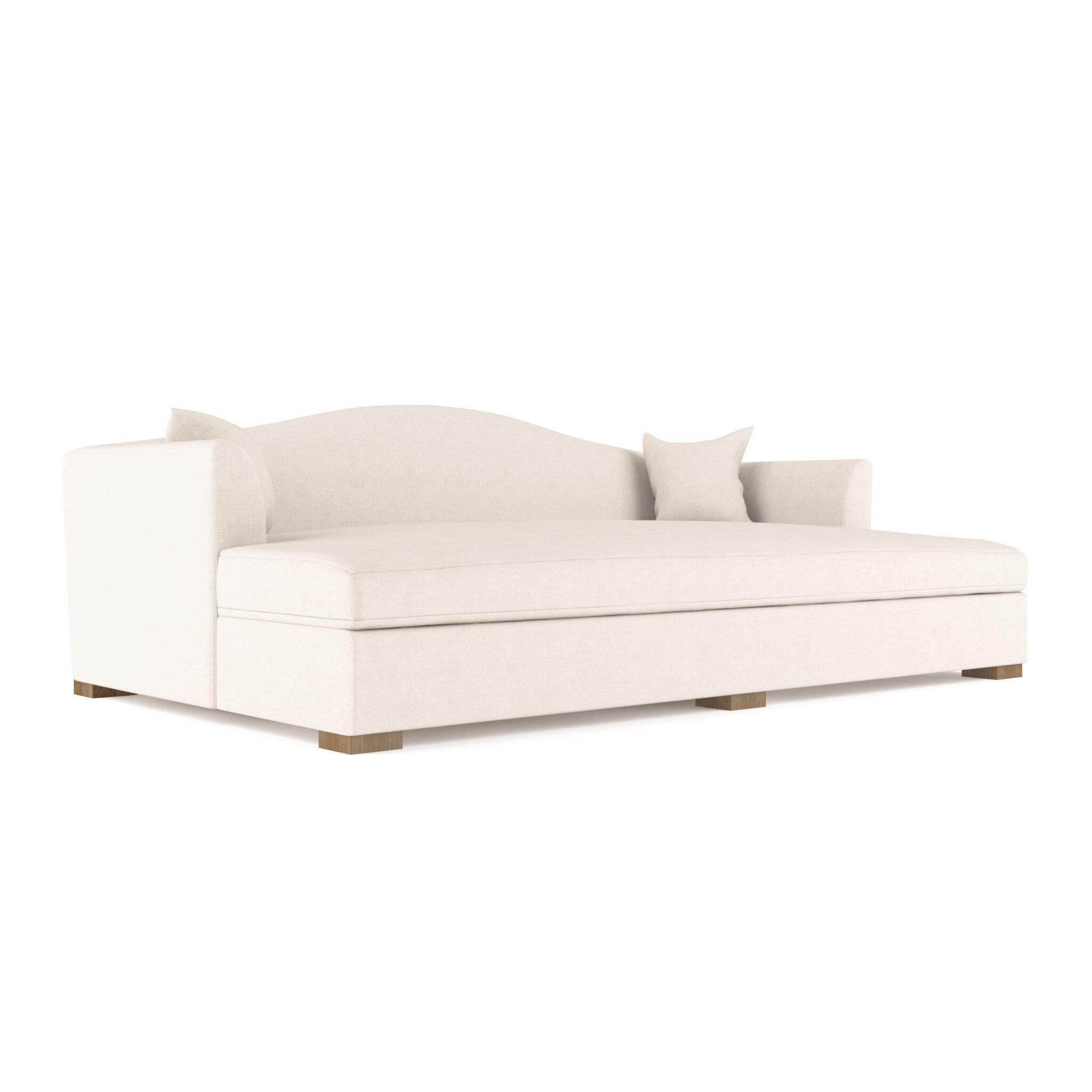 Canora Grey Aughalish Vintage Leather Sofa Bed Wayfair