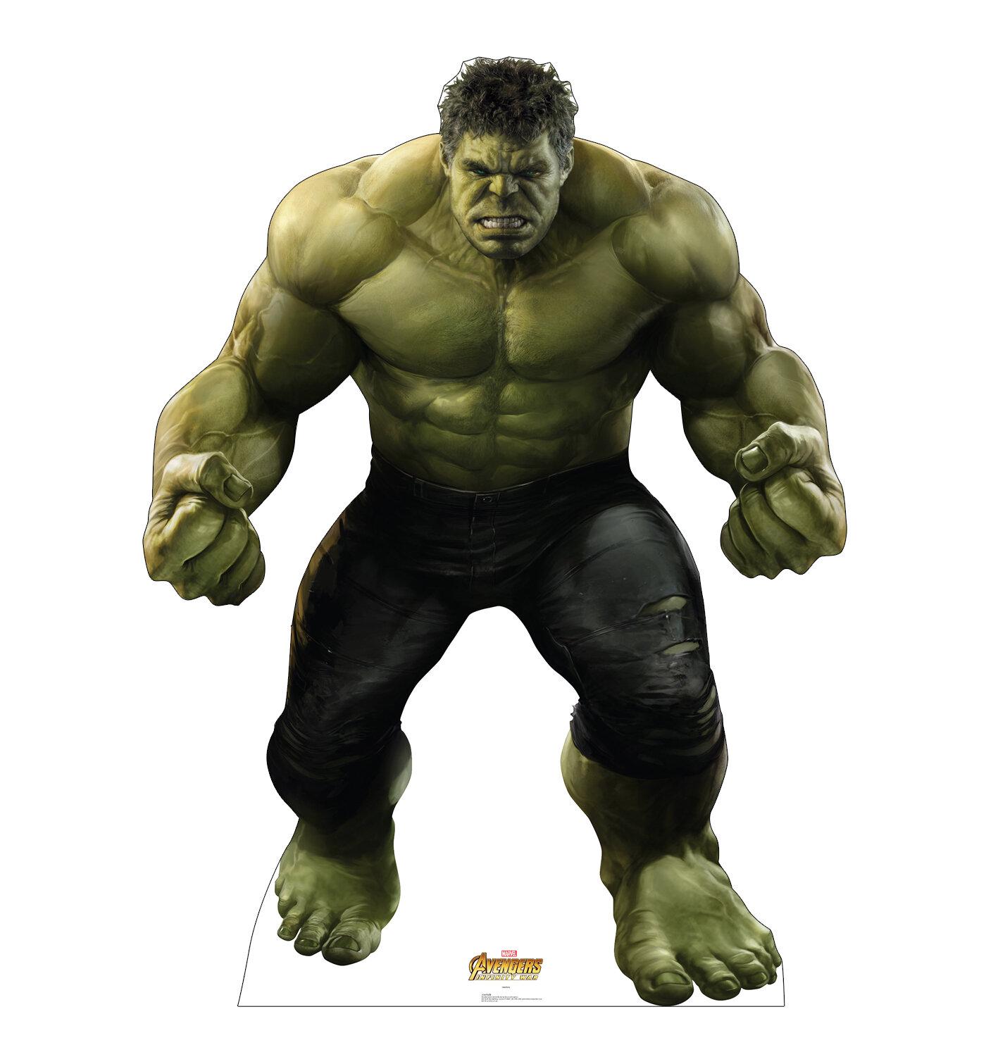 advanced graphics avengers infinity war hulk standup & reviews   wayfair