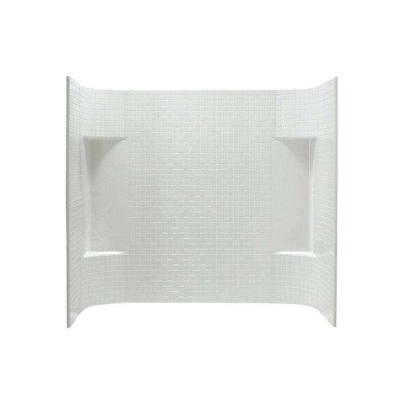 "Accord 3-Piece 31.25"" x 60"" x 56.25"" Tile Wall Set"