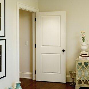 Paneled Solid Manufactured Wood Primed Molded Interior Standard Door