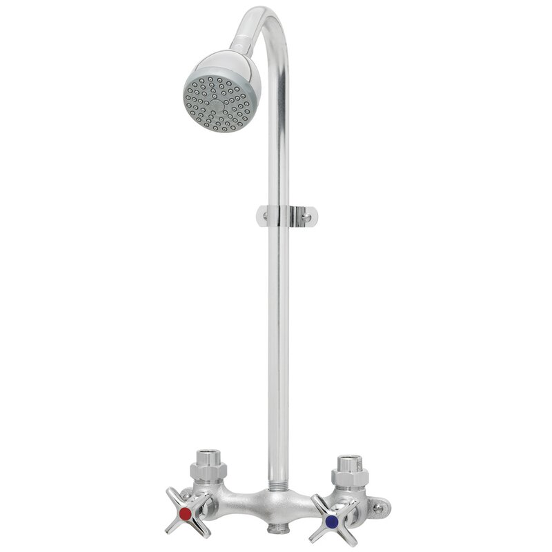 Speakman Commander Double Handle Exposed Complete Shower System ...