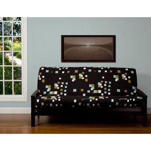 Pattern Zipper Box Cushion Futon Slipcover by Brayden Studio
