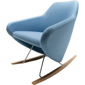 Taxido Rocking Chair with Headrest by Segis ..