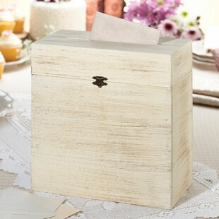 Rustic Wedding Card Box | Wayfair