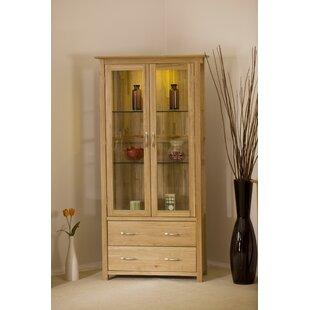 Marley Solid Oak Display Cabinet