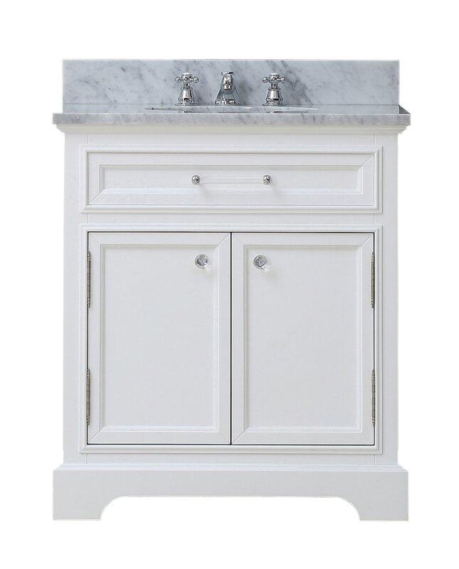 """24 Bathroom Vanities And Sinks darby home co colchester 24"""" single sink bathroom vanity set"""