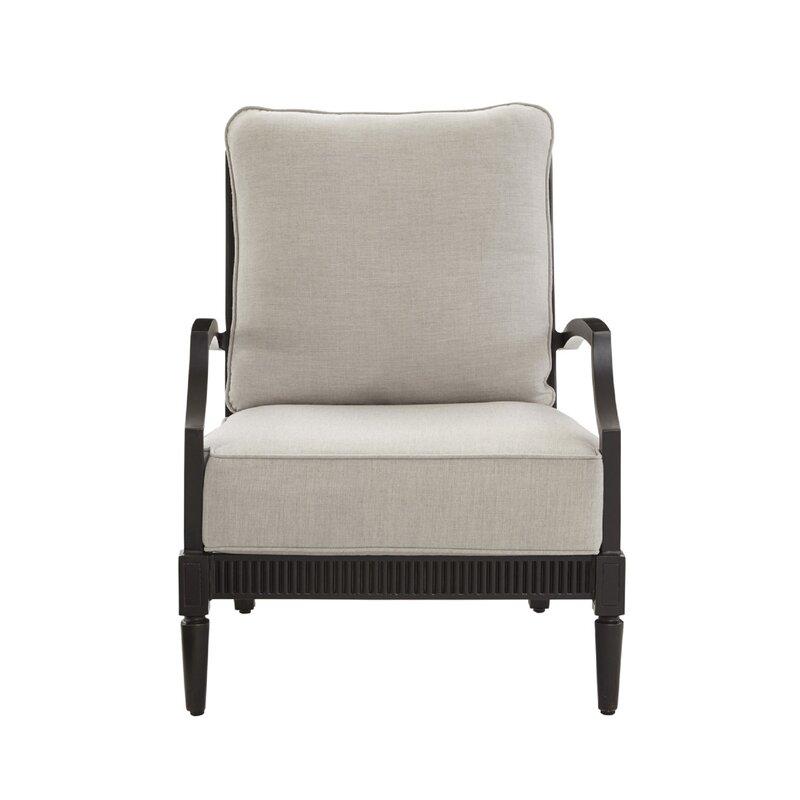 Canora Grey Euston Patio Chair with Cushion
