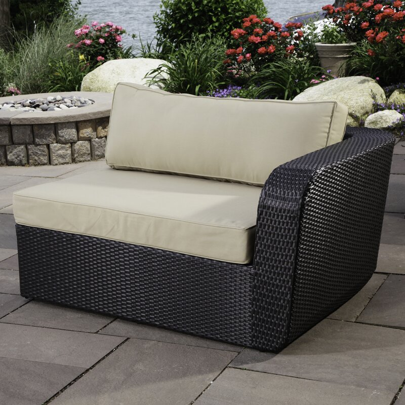 Madbury road malta 6 piece sectional set with cushions for Outdoor furniture malta
