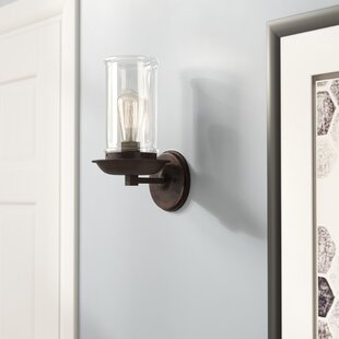 Sconces youll love wayfair sorrell 1 light wall sconce aloadofball Image collections