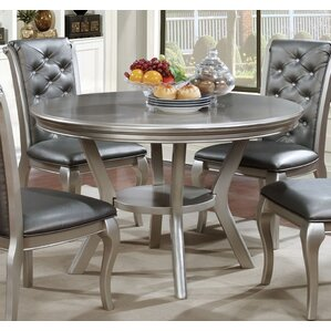 Silver Kitchen & Dining Tables You\'ll Love | Wayfair