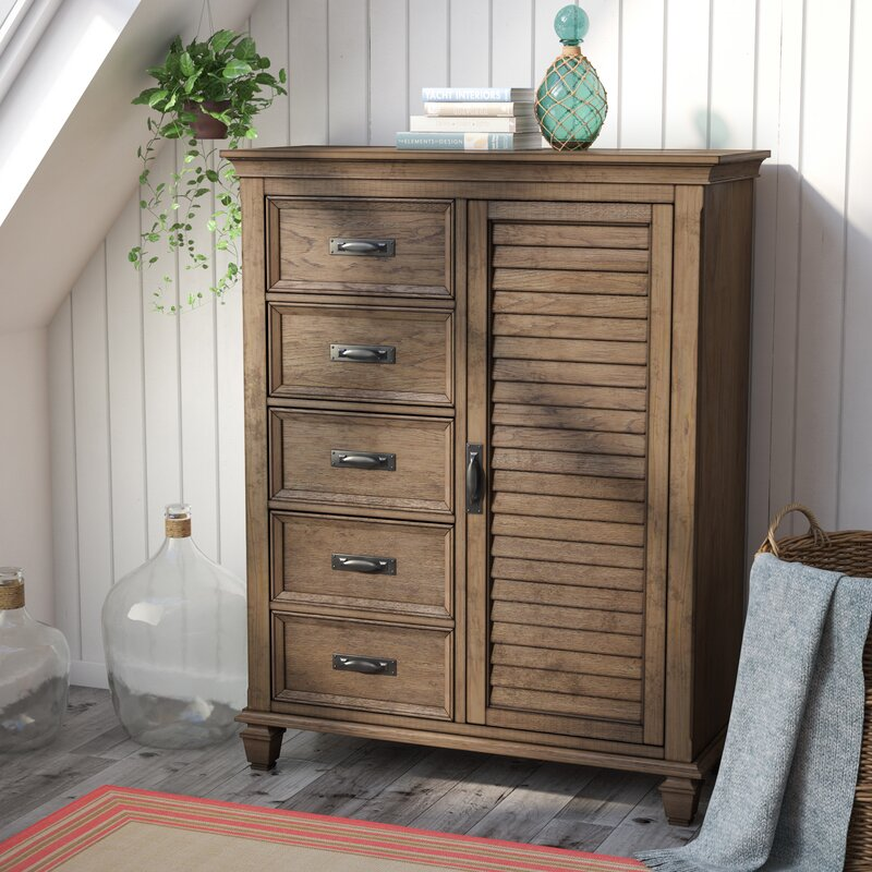 Dorrington 5 Drawer Gentleman S Chest