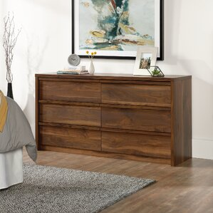 Posner 6 Drawer Dresser by Mercury Row