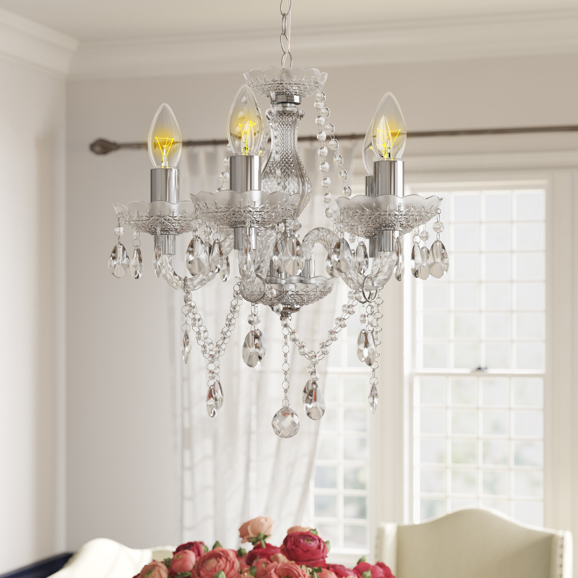 Xan 5-Light Candle-Style Chandelier