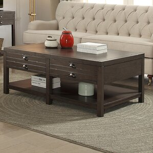 Shaffer Rectangle Coffee Table by Gracie Oaks