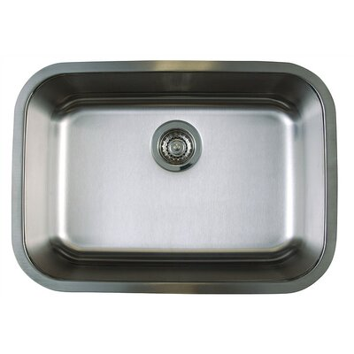 "Undermount Kitchen Sinks blanco stellar 25"" x 18"" medium single bowl undermount kitchen"