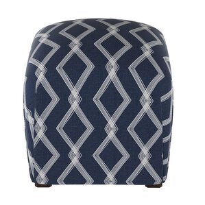Edford Crossweave Ottoman by Varick Gallery
