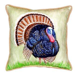 Wild Turkey Indoor/Outdoor Throw Pillow