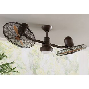 Farmhouse rustic ceiling fans birch lane save aloadofball Choice Image