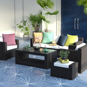 5-tlg. Sofa-Set Roma mit Kissen von Home & Haus