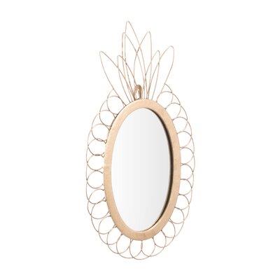 Bay Isle Home Isleboro Pineapple Accent Mirror