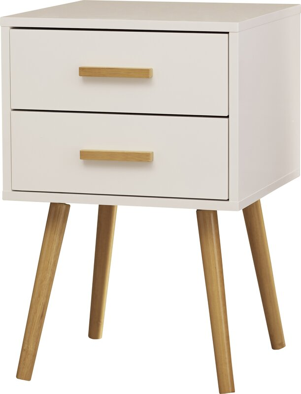 Langley Street Phoebe End Table With Storage Reviews Wayfair