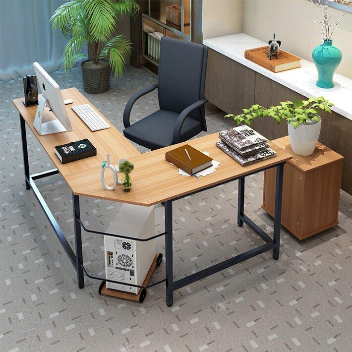 ebern designs harkey l shaped computer desk wayfair rh wayfair com l shaped computer desks uk l shaped computer desks for home