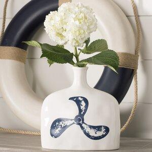 Bowdoinham Nautical Propellar Vase