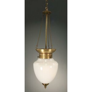 Bathroom Light Fixtures That Hang From Ceiling schoolhouse pendants you'll love | wayfair