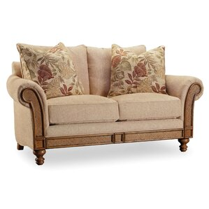 Windward Upholstered Loveseat by Hooker Furn..