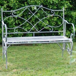 2-Sitzer Stahlgartenbank Westminster von Ascalon