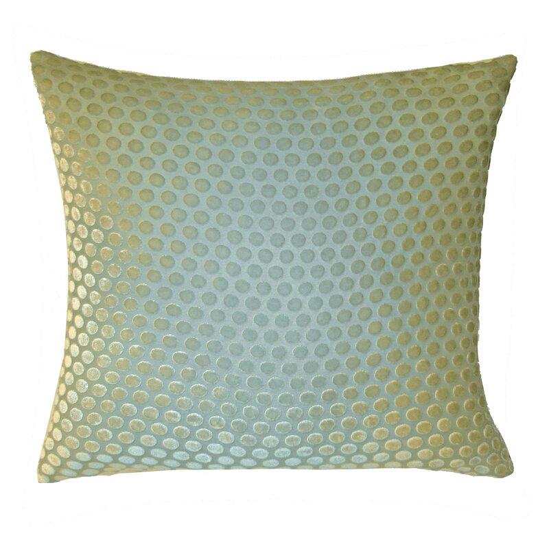 Kevin O'Brien Studio Dots Velvet Pillow & Reviews