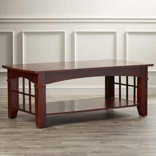 Sunnydale Coffee Table & Dark Cherry Coffee Table Set | Wayfair