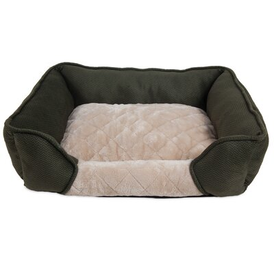 Thalia Quilted Rectangular Lounger Bolster Dog Bed Tucker Murphy Pet