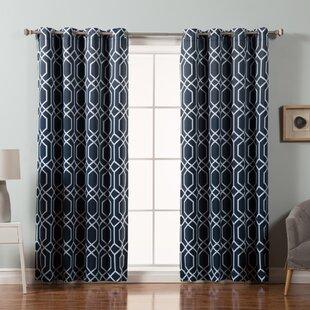 fancy plush design moorish tile curtain. Save to Idea Board Edward Trellis Curtains  Wayfair